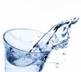 Verkalktes Wasser